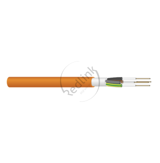 Datwyler, Veiligheidskabel, (N)HXH-0 FE180 E30-E60 1x16, oranje