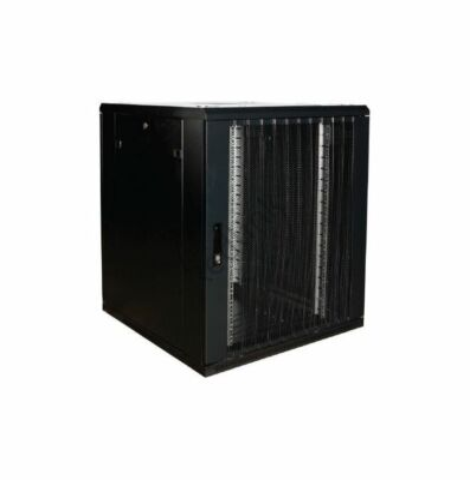 BasicLine, Serverkast 18HE, 19inch, B800xD800xH1000mm, Stalen geperf. deur voor/achter, RAL9005