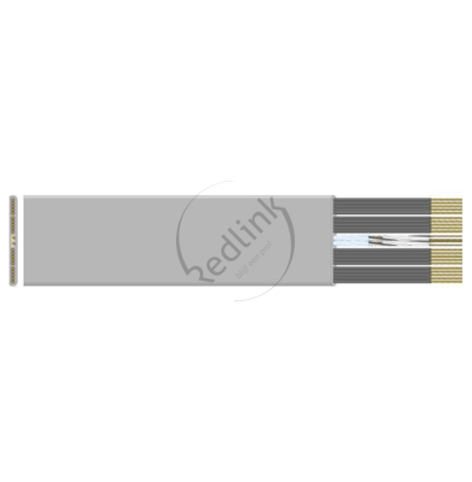 Datwyler FL liftkabel, PVC-niet ondersteund Laagbouw, type 8548-F 4x1.50+2x4x0.50+HF 75