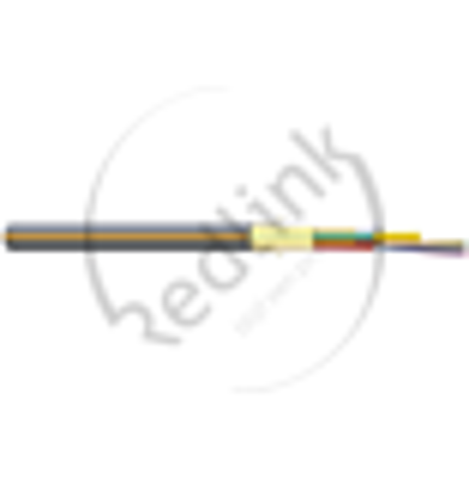Datwyler, FO kabel, OS2, 48v(4x12)Outdoor wbKT Micro, A-DQ(ZN)2Y, G652.D, Fca, Zwart Oranje