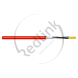 Datwyler, Safety Cable, rood,2x1.5 mm², OD 7.6mm, LSZH, E30, BS EN50200, PH120