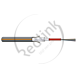 Datwyler, FO kabel, OS2, 8v(1x8)Outdoor, A-DQ(ZN)B2Y, PE ZGGT HP, Fca, Zwart Oranje