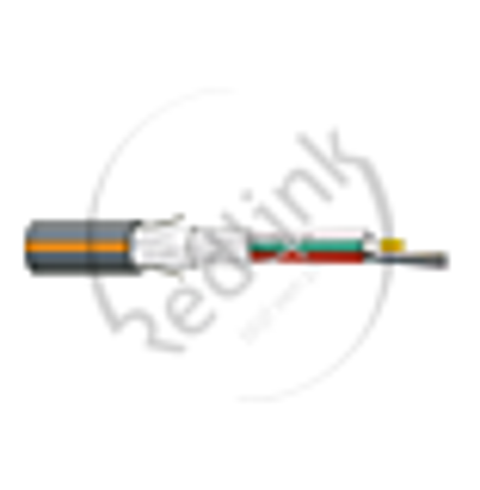 Datwyler, FO kabel, OS2, 144v(12x12)Outdoor, A-DQ(ZN)B2Y, PE, wbGGT HP, Fca, Zwart Oranje