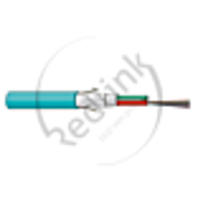 Datwyler, FO kabel, OM3, 24v(2x12)Indoor, SZGGFR/J-B(ZN)BH, Cca, Turkoois