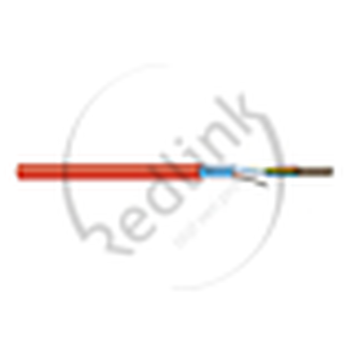 Datwyler, Brandmeldkabel, JE-H(St)H Bd FE180 E30 Light 2x2x0.8, rood