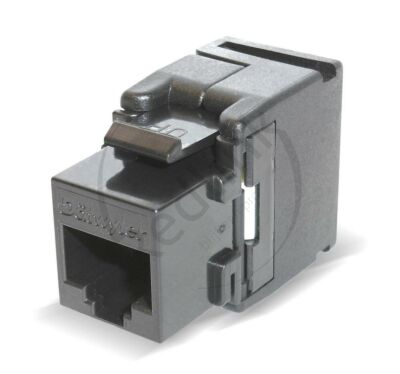 Datwyler, Keystone Cat6, KU-T 1/8 UTP RJ45 (Toolless) Zwart