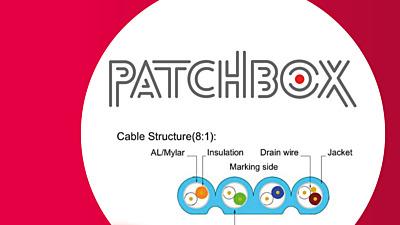PATCHBOX: Een unieke platte patchkabel!